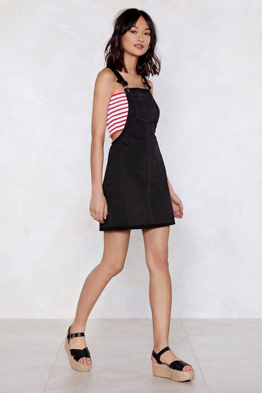 29e4b79d4f7b Pinafore Your Hopes On Me Denim Dress | Shop Clothes at Nasty Gal!