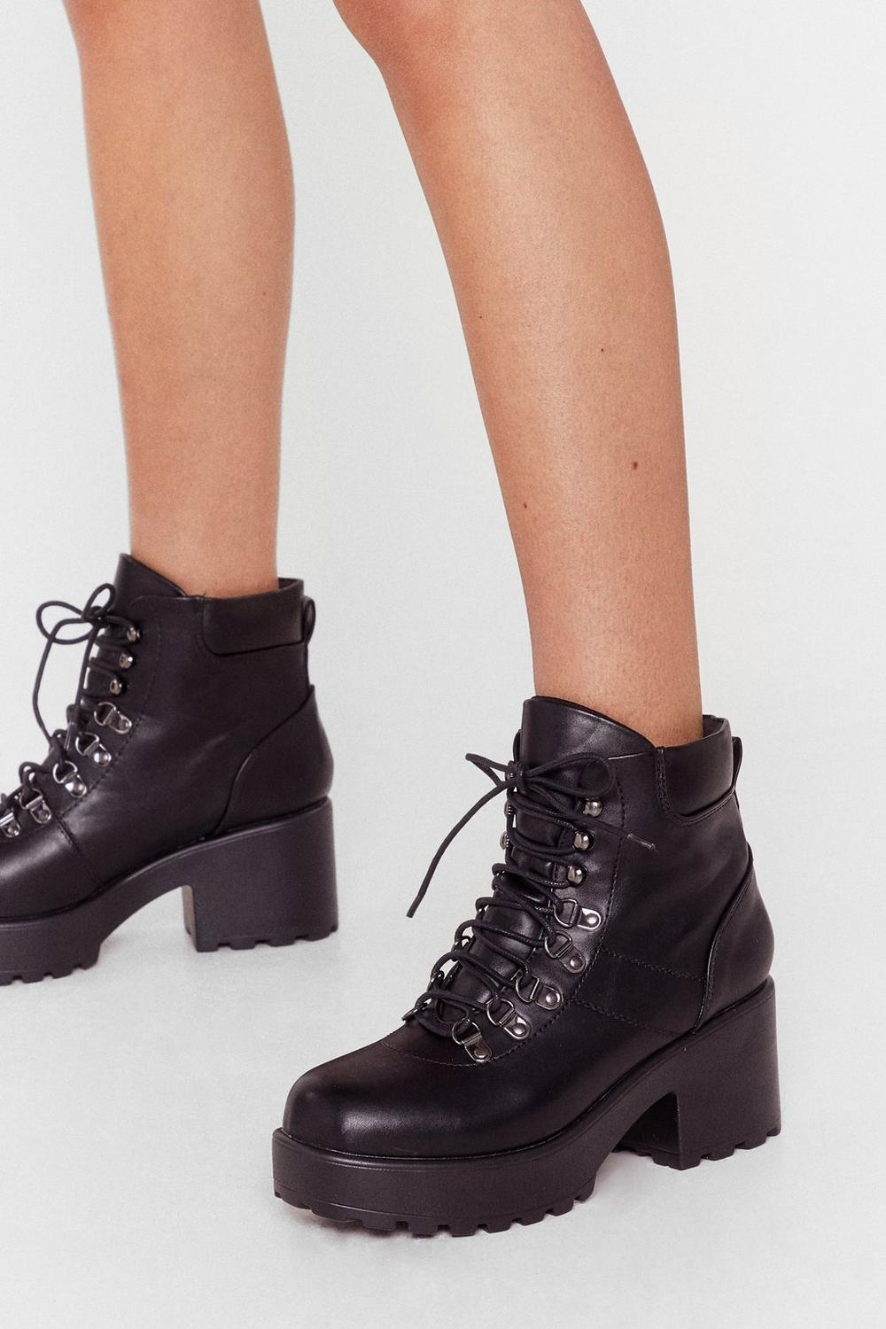 Walk On By Faux Leather Boot cheap low shipping X8suS