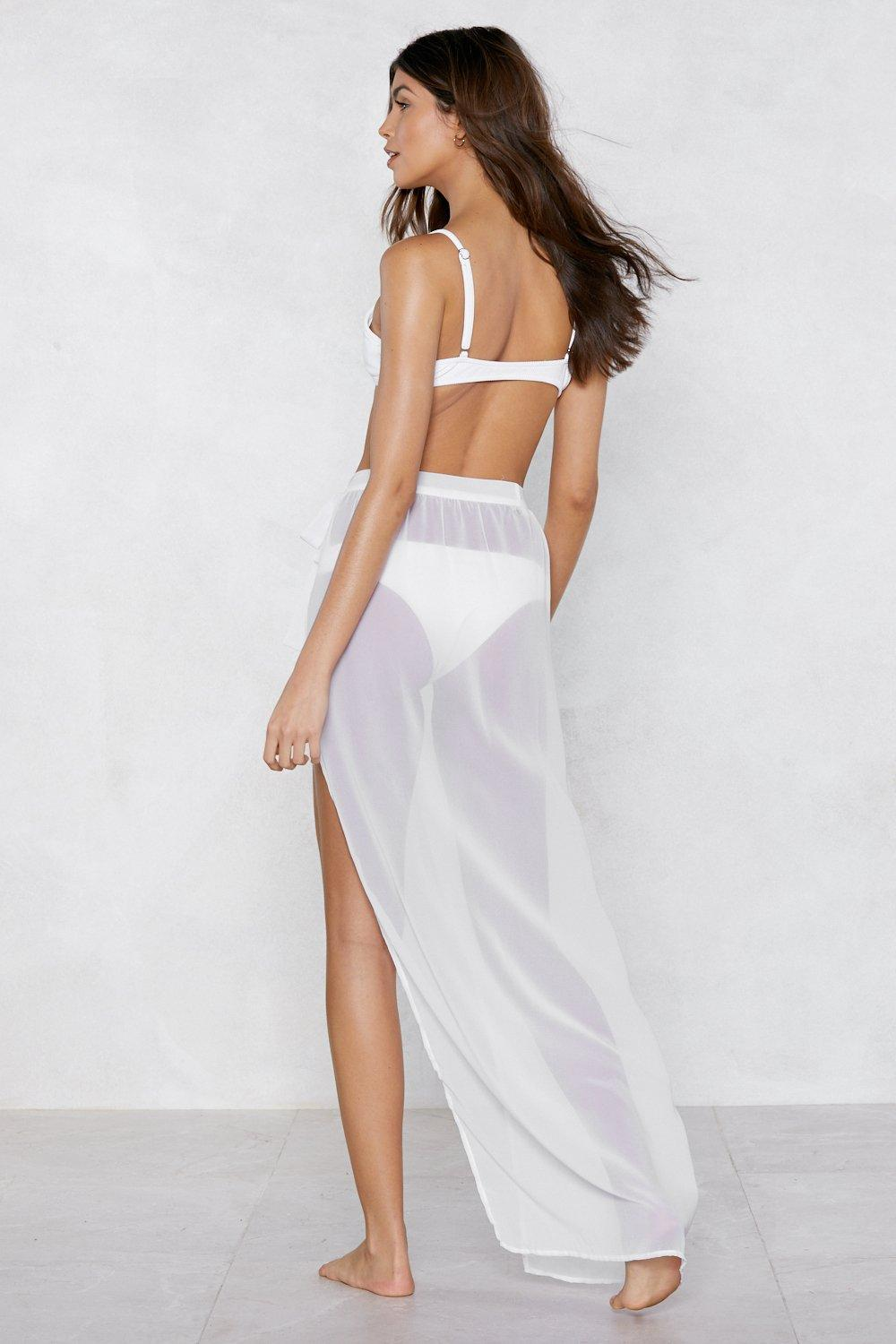 3441f7970e404 Sea the World Sarong Skirt | Shop Clothes at Nasty Gal!