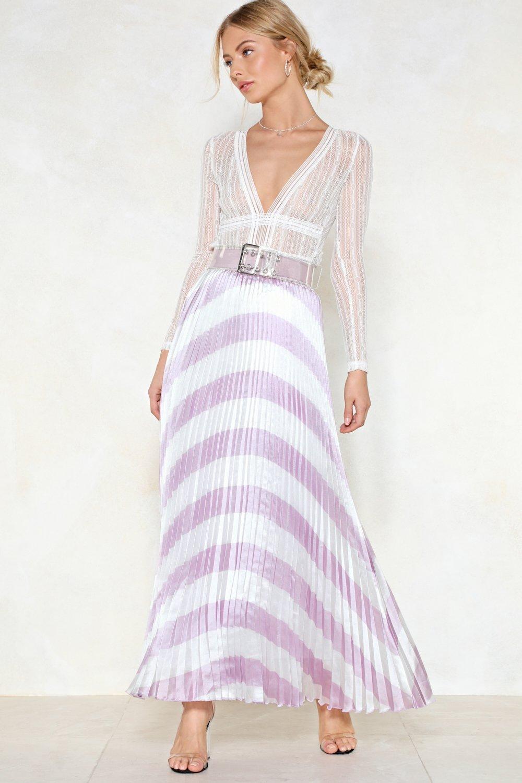 Chevron Maxi Skirts and Dresses