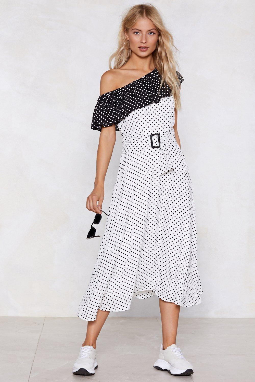 7ade5adbcc141 Good Spot Polka Dot Dress   Shop Clothes at Nasty Gal!