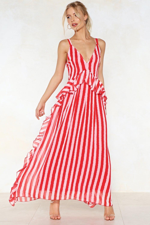 3606d2ba96ad Walk Stripe in Maxi Dress | Shop Clothes at Nasty Gal!