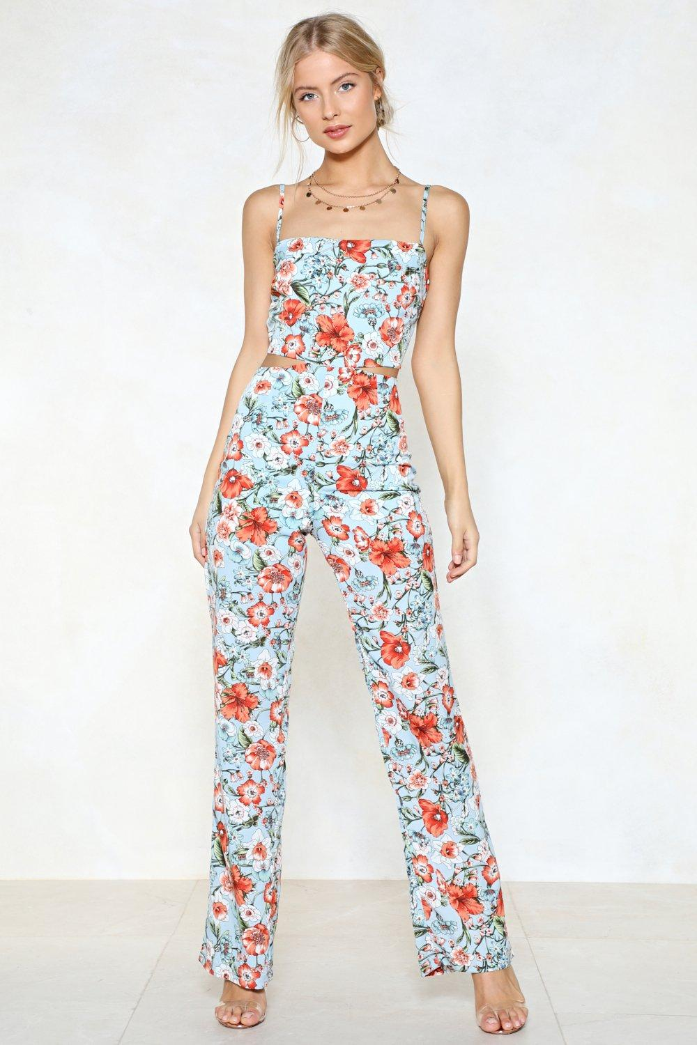 eb7f9e34be16 Grow Up Floral Jumpsuit