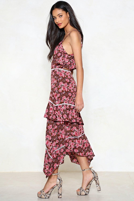 6bfaf3775b3 La Vie En Rose Midi Dress