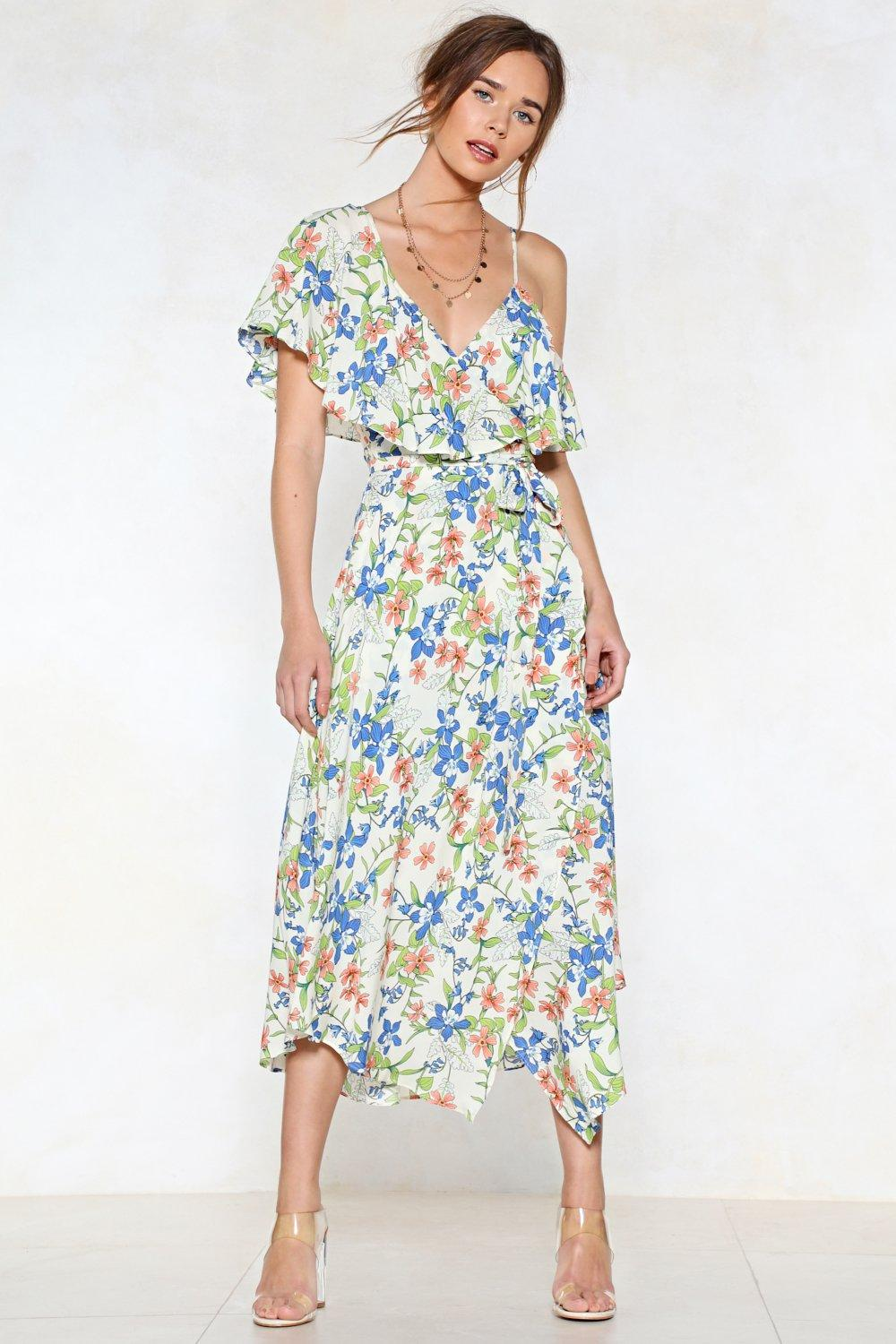 Bloom Again Floral Dress Shop Clothes At Nasty Gal