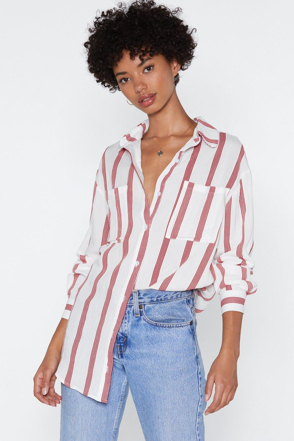 7d6650781b Keep in Line Striped Shirt