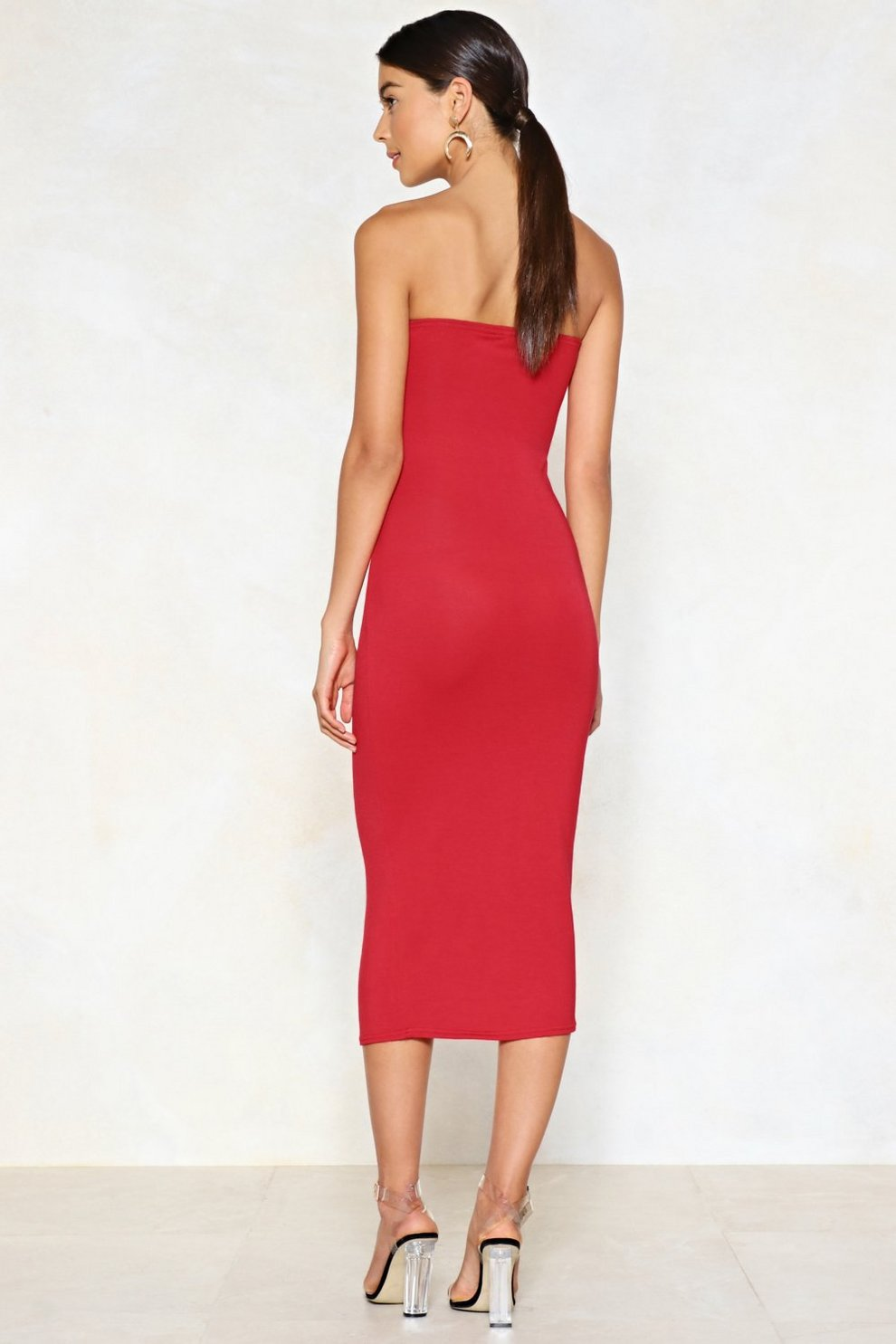 07f91eed33b66 Simple as That Strapless Dress | Shop Clothes at Nasty Gal!