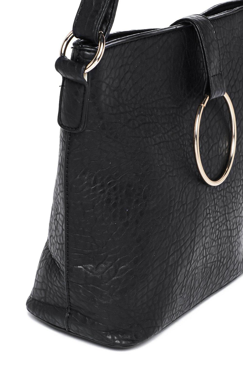 b5dabf360a WANT O-Rings a Bell Faux Leather Bag