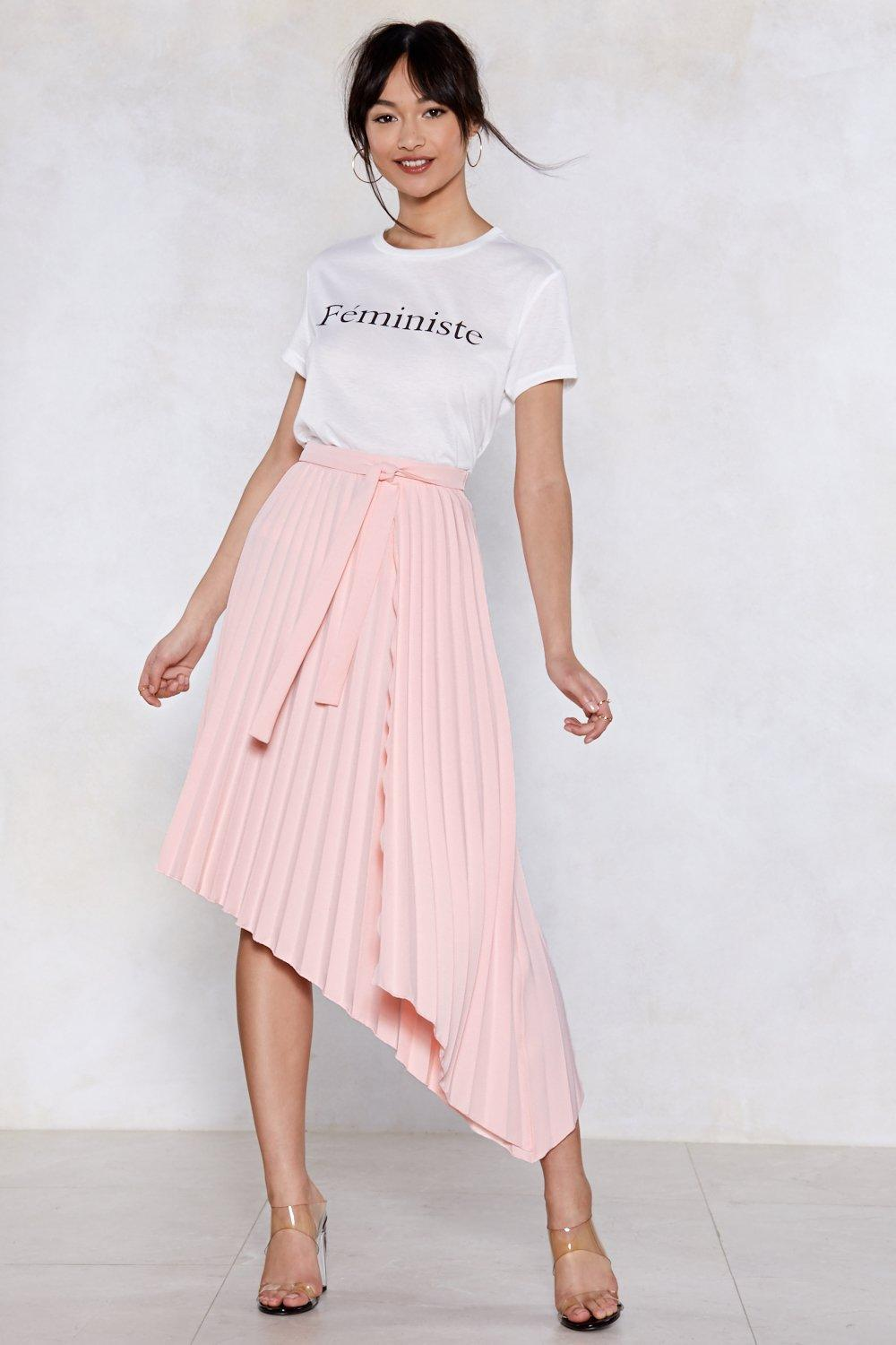3075a19fa9 Turn the Pleat Up Midi Skirt | Shop Clothes at Nasty Gal!