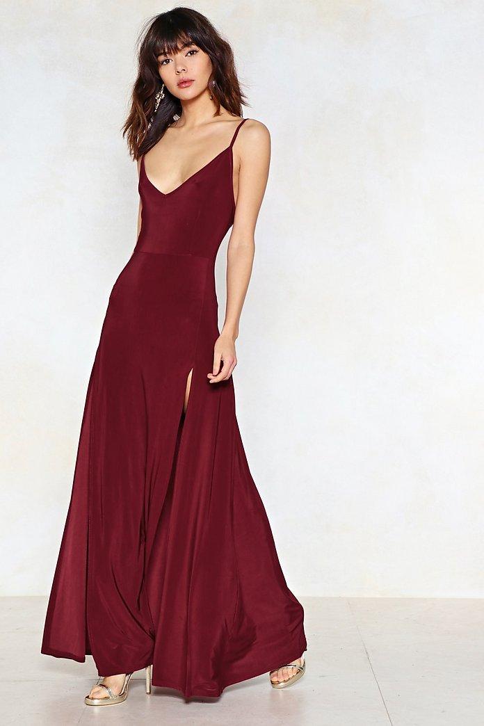 On a High Maxi Dress | Nasty Gal