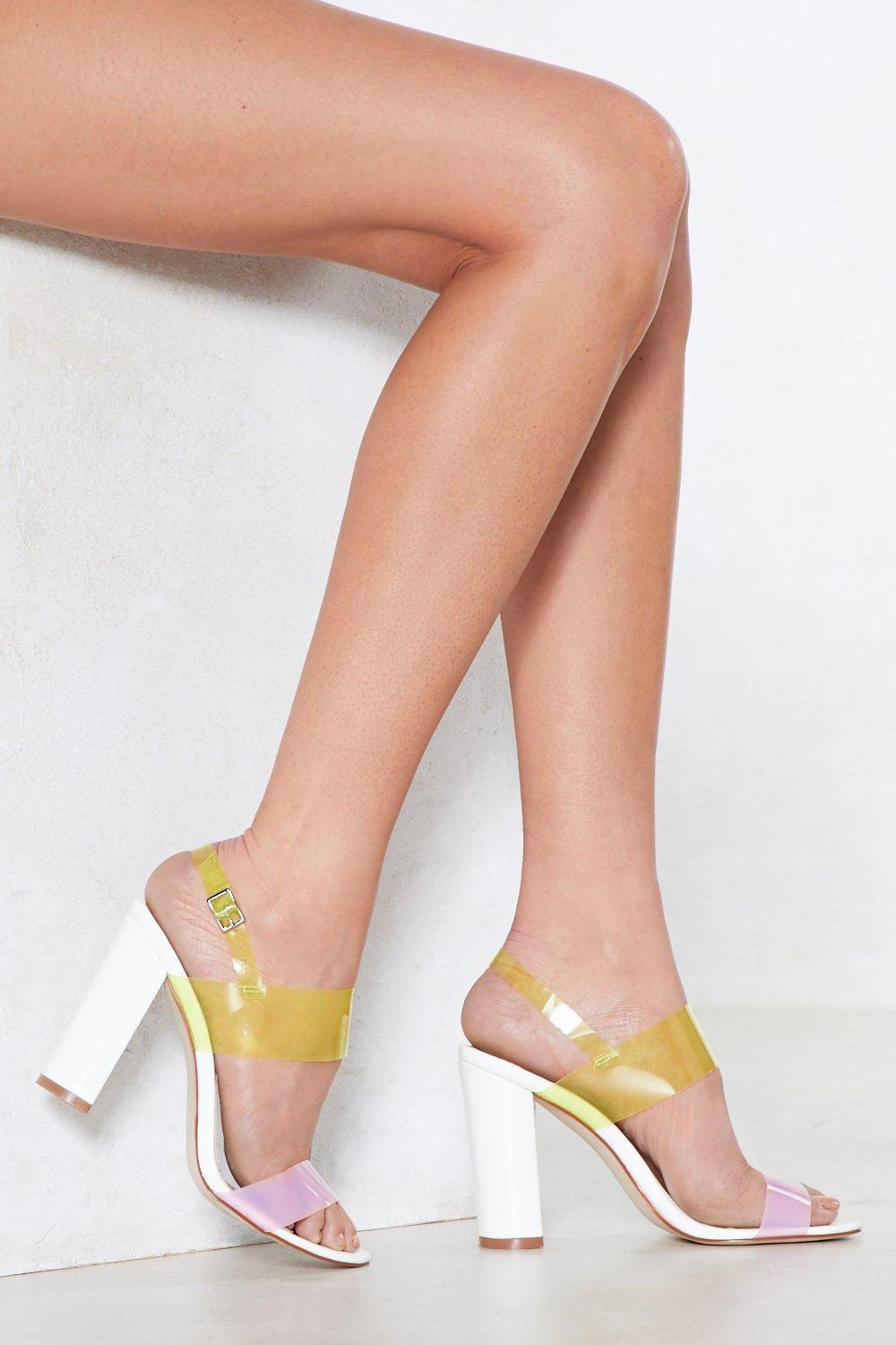 Loud and Clear Heel
