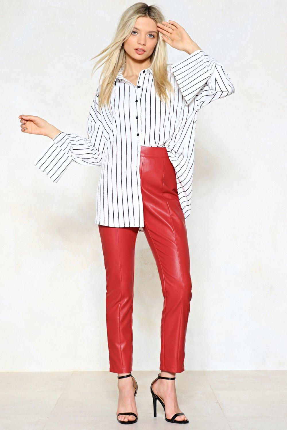 9fed185b9fad4 Ride Away Faux Leather Pants | Shop Clothes at Nasty Gal!