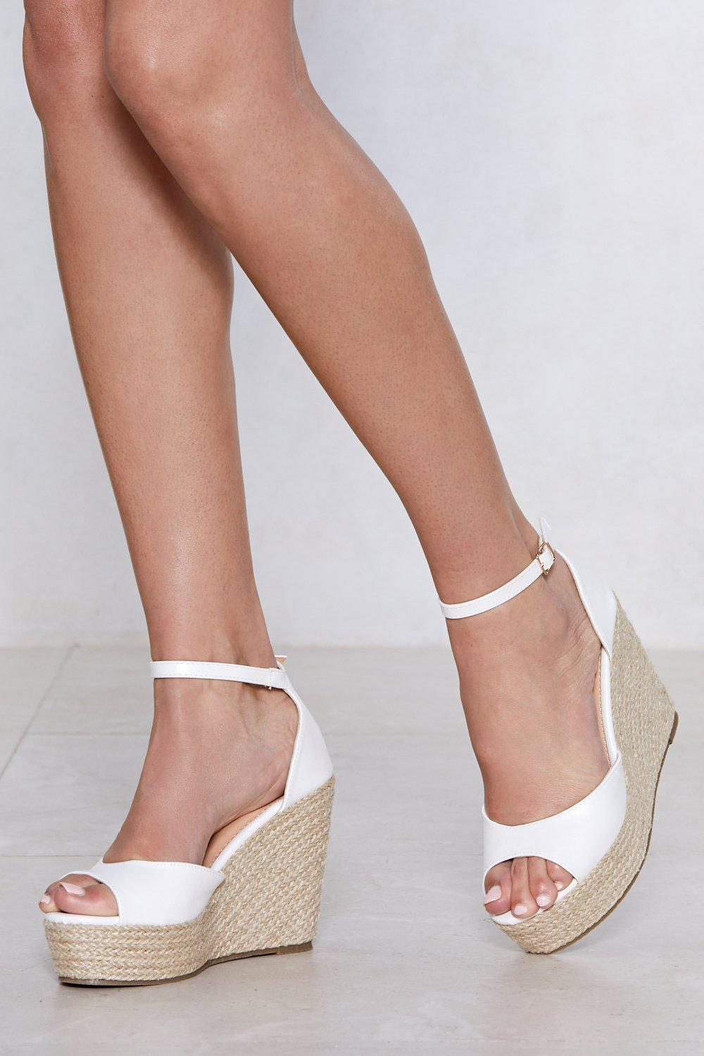 535b767f066 Sunny Afternoon Espadrille Wedge Sandal | Shop Clothes at Nasty Gal!
