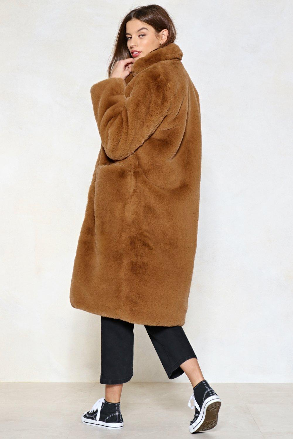 f45a3956d Fur Now Faux Fur Coat | Shop Clothes at Nasty Gal!
