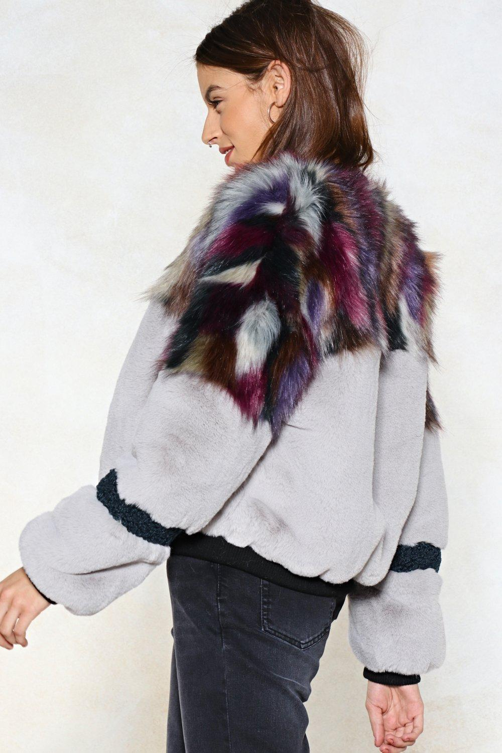 45c331e148 Whatever You Pre-Fur Faux Fur Bomber Jacket | Shop Clothes at Nasty Gal!