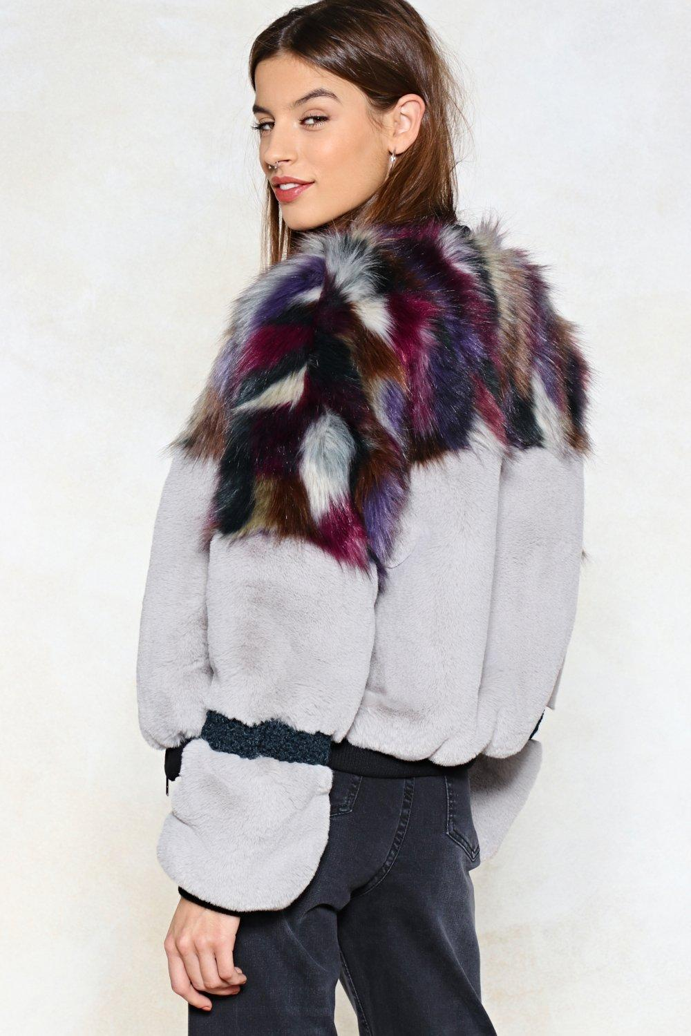 ca6e1da9a Whatever You Pre-Fur Faux Fur Bomber Jacket | Shop Clothes at Nasty Gal!