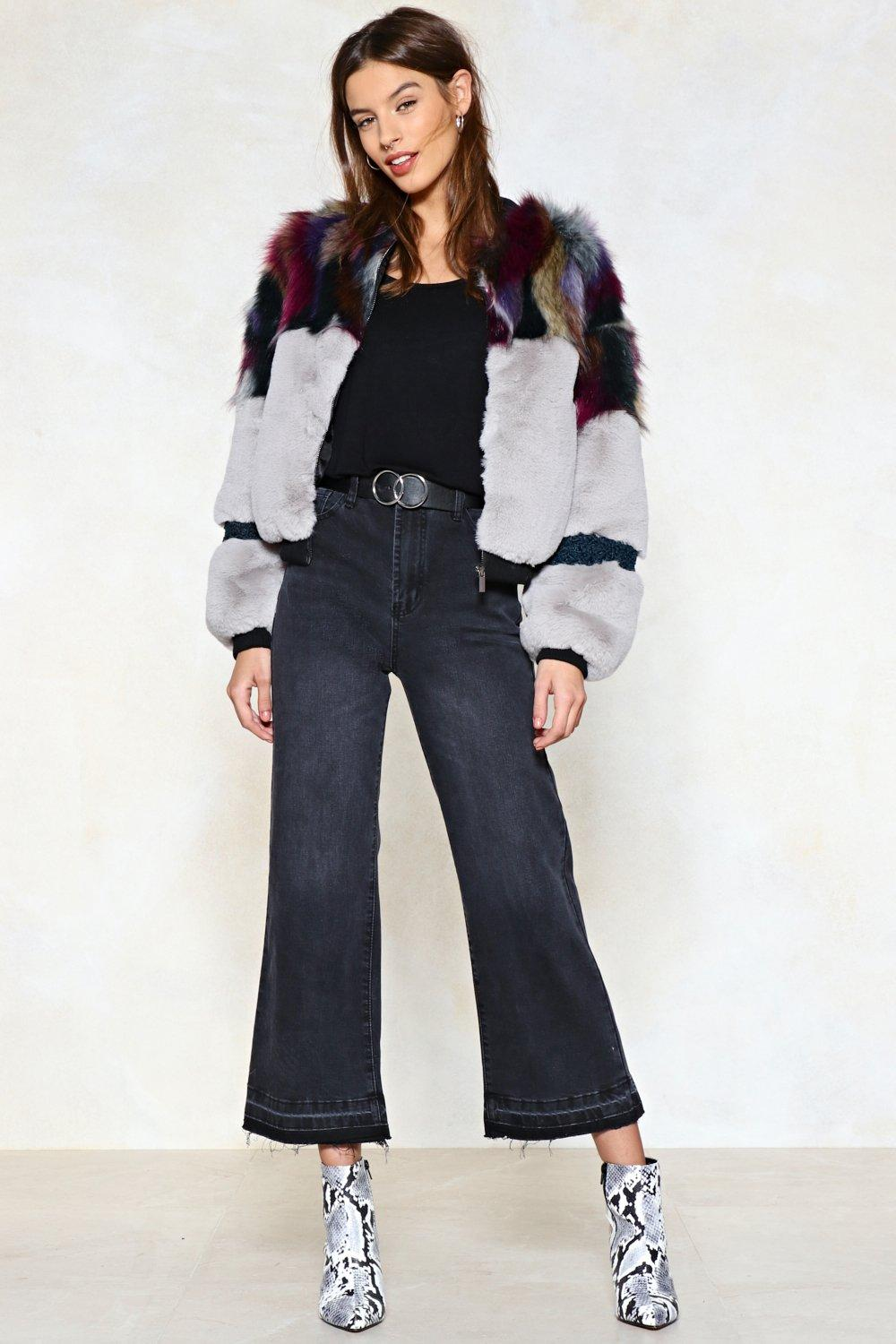 20ed750ea Whatever You Pre-Fur Faux Fur Bomber Jacket | Shop Clothes at Nasty Gal!