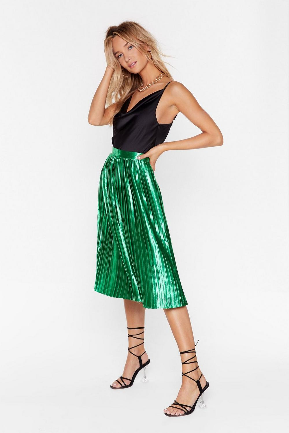 3877fb11b44e Emerald City Pleat Skirt | Shop Clothes at Nasty Gal!