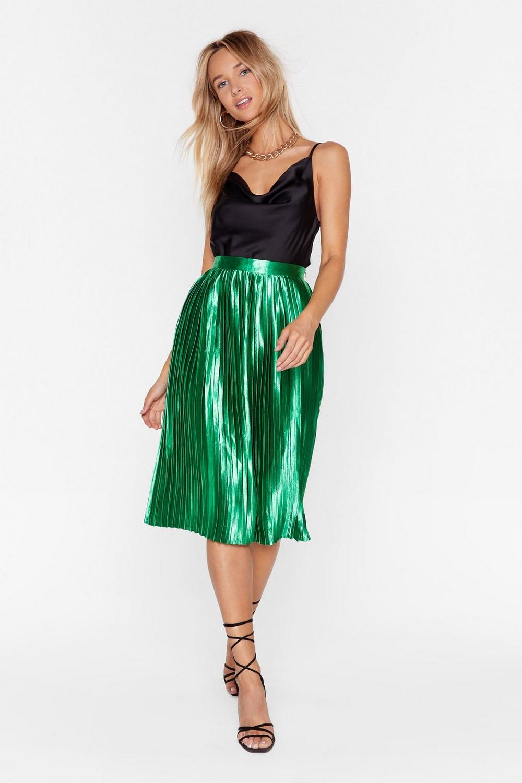 0c2c1a0f1bc9 Emerald City Pleat Skirt | Shop Clothes at Nasty Gal!