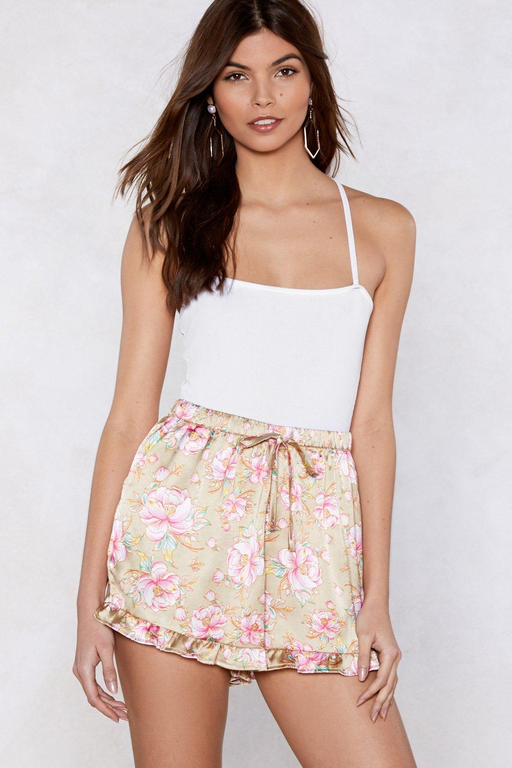 dbe7a430f4 Grow Your Own Way Satin Shorts | Shop Clothes at Nasty Gal!