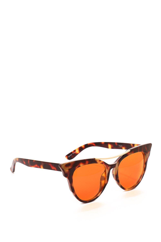 e2c25677f243c Womens Orange The Cats Pajamas Oversized Shades. Hover to zoom