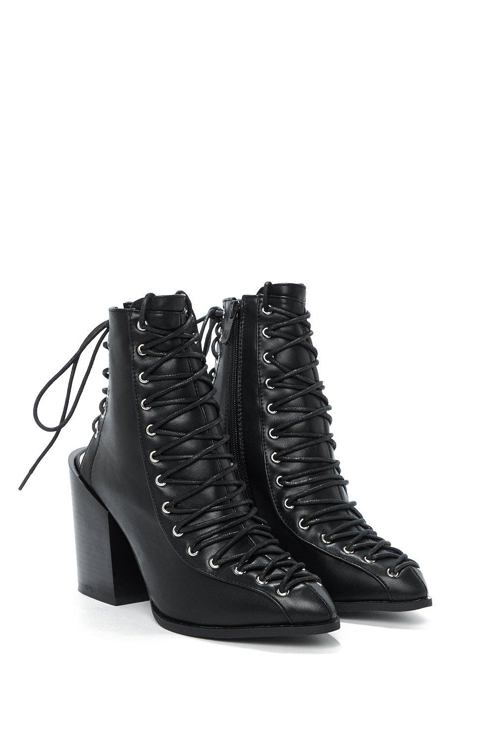 3887f47c75c Of Corset is Lace-Up Bootie | Shop Clothes at Nasty Gal!