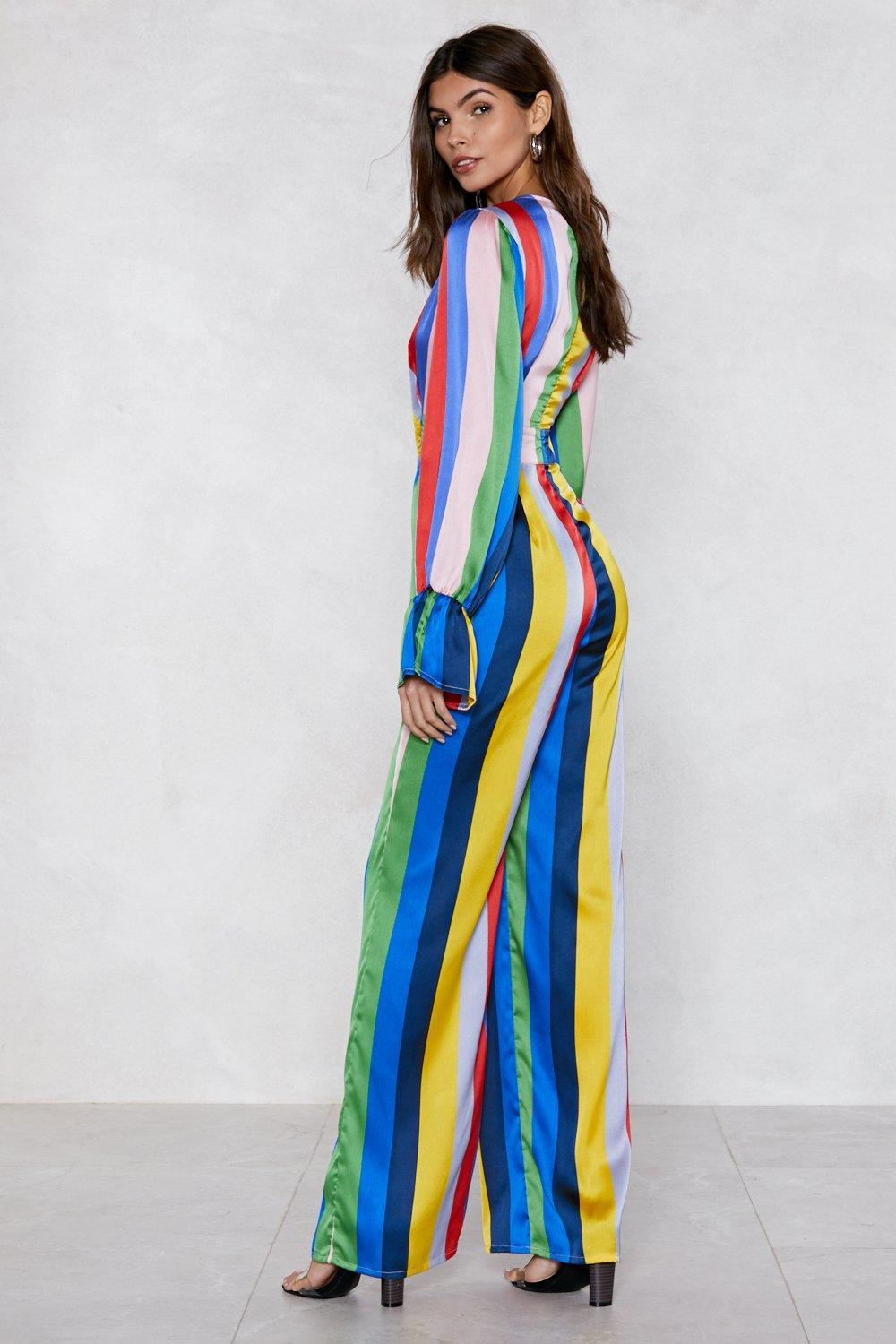 2970a8488124 A Certain Flare Striped Jumpsuit | Shop Clothes at Nasty Gal!