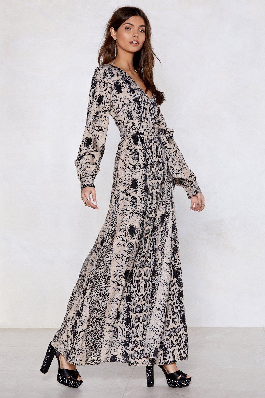 56d2be9911e8 Snake Up Maxi Dress | Shop Clothes at Nasty Gal!