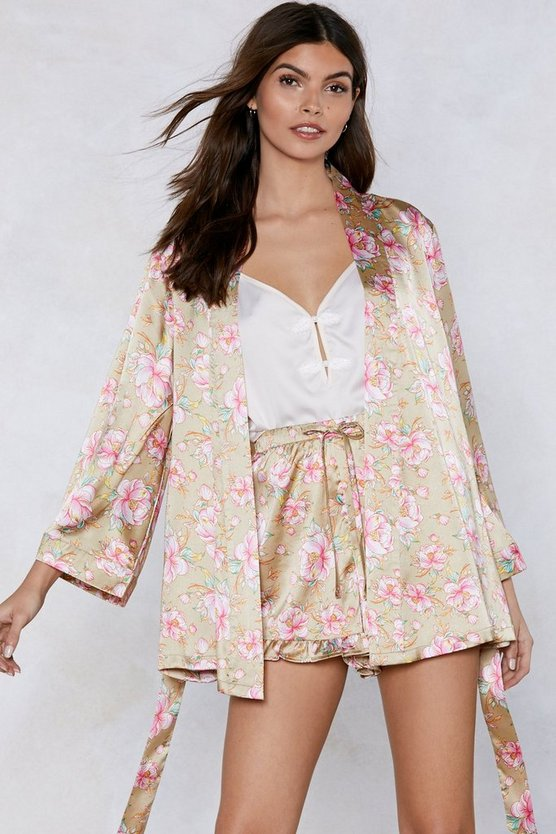 It Stems From You Floral Kimono by Nasty Gal