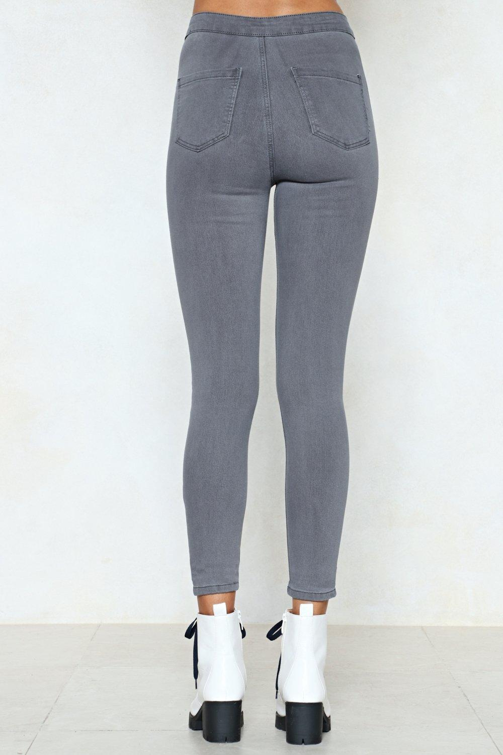be47aa92425 High Waisted Two Pocket Stretch Skinny Jean | Shop Clothes at Nasty Gal!