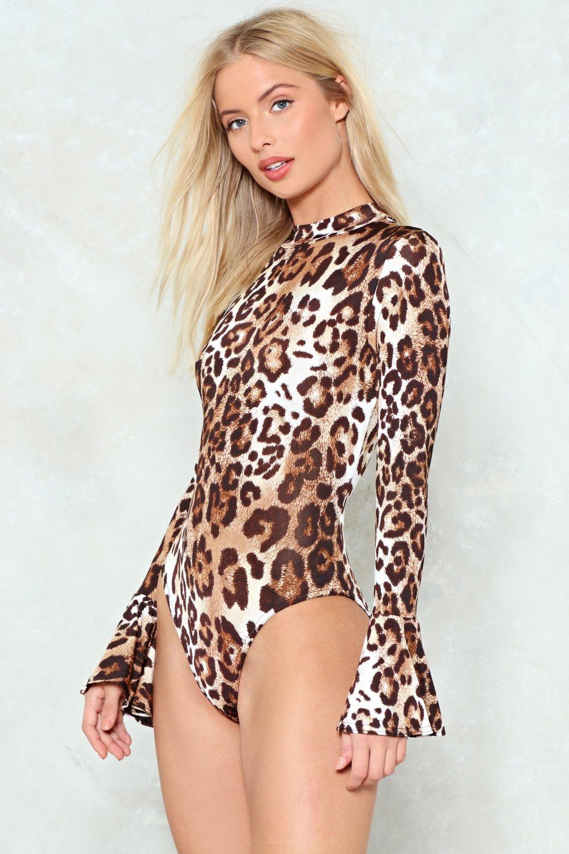 9a9f638a60 Real Wild Child Leopard Bodysuit