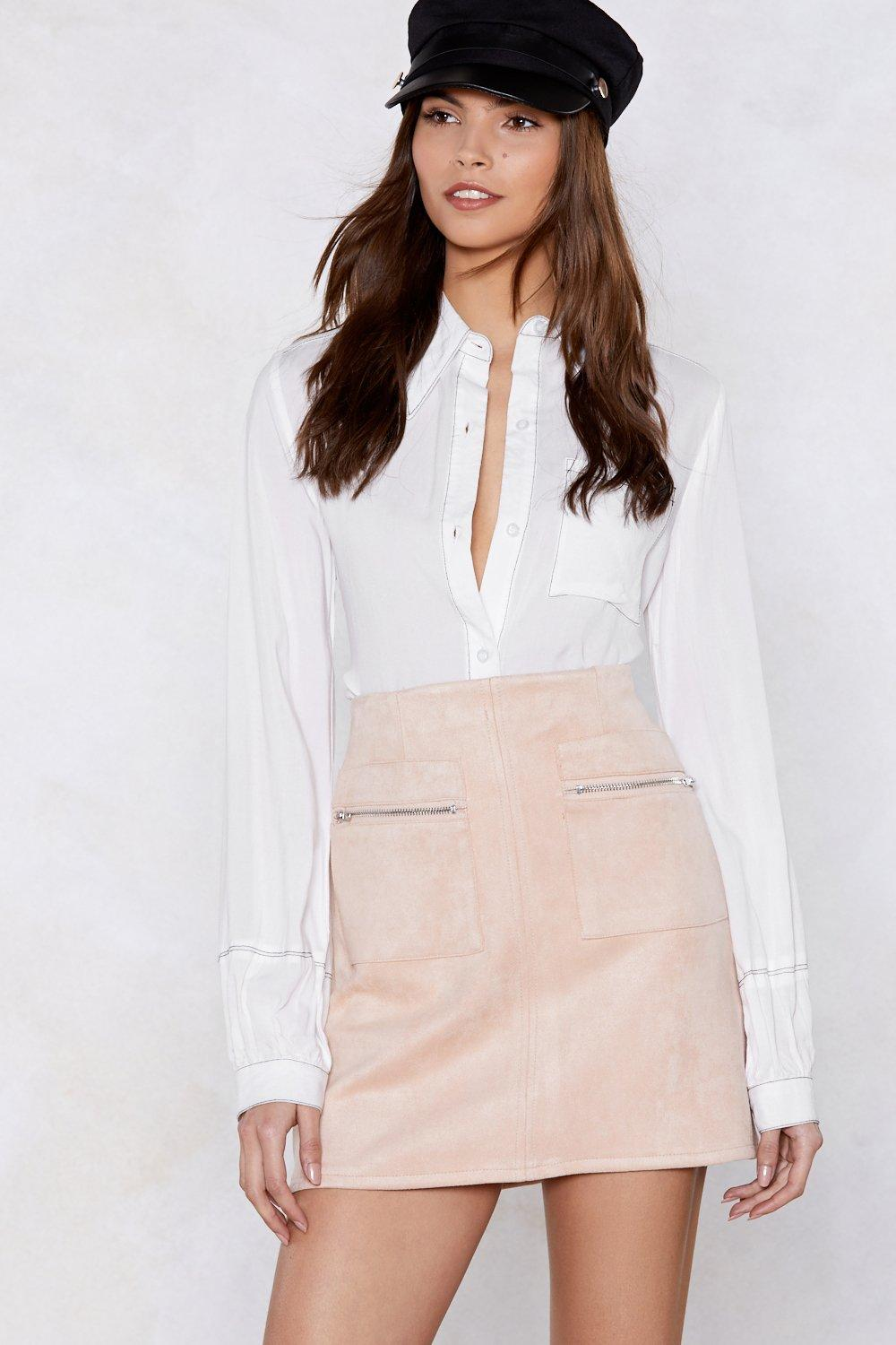 6bbbd0fcbec Looks Suede Mini Skirt | Shop Clothes at Nasty Gal!