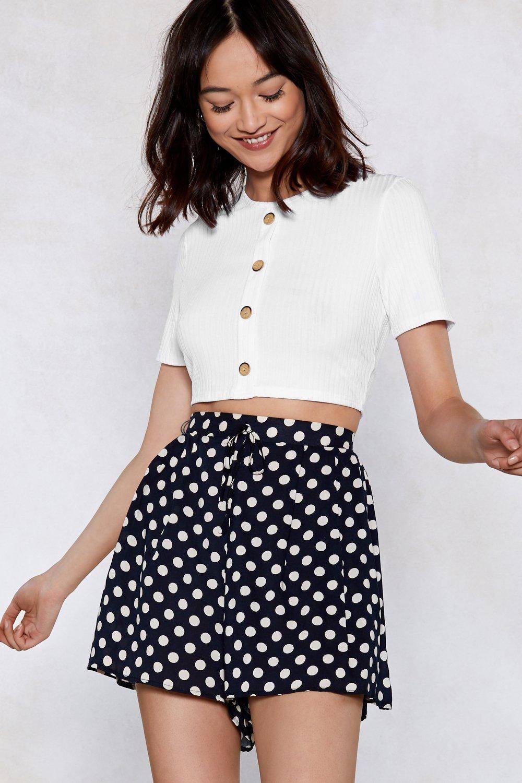Hit the Nail On the Head Polka Dot Shorts | Shop Clothes at Nasty Gal!