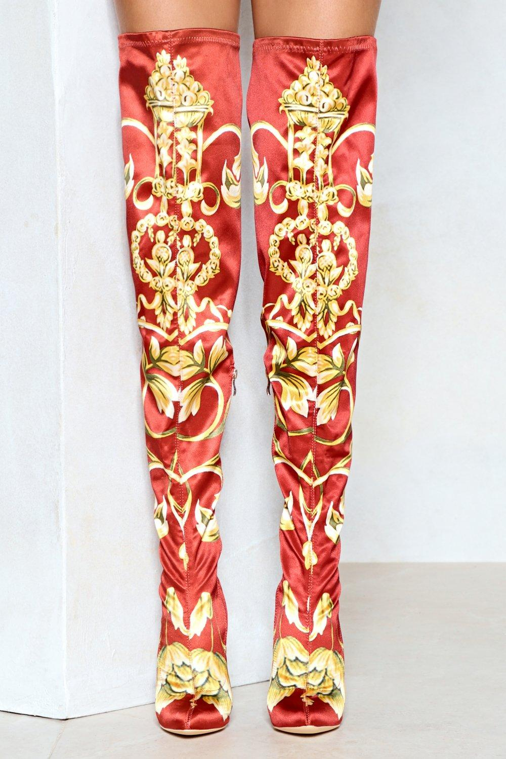 de9a3599f03 The Center of Attention Thigh-High Boot | Shop Clothes at Nasty Gal!