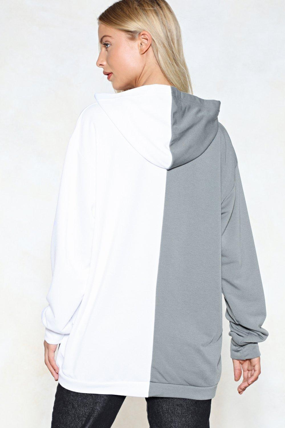 1fbb8940797f Give Me Half a Chance Oversized Hoodie   Shop Clothes at Nasty Gal!