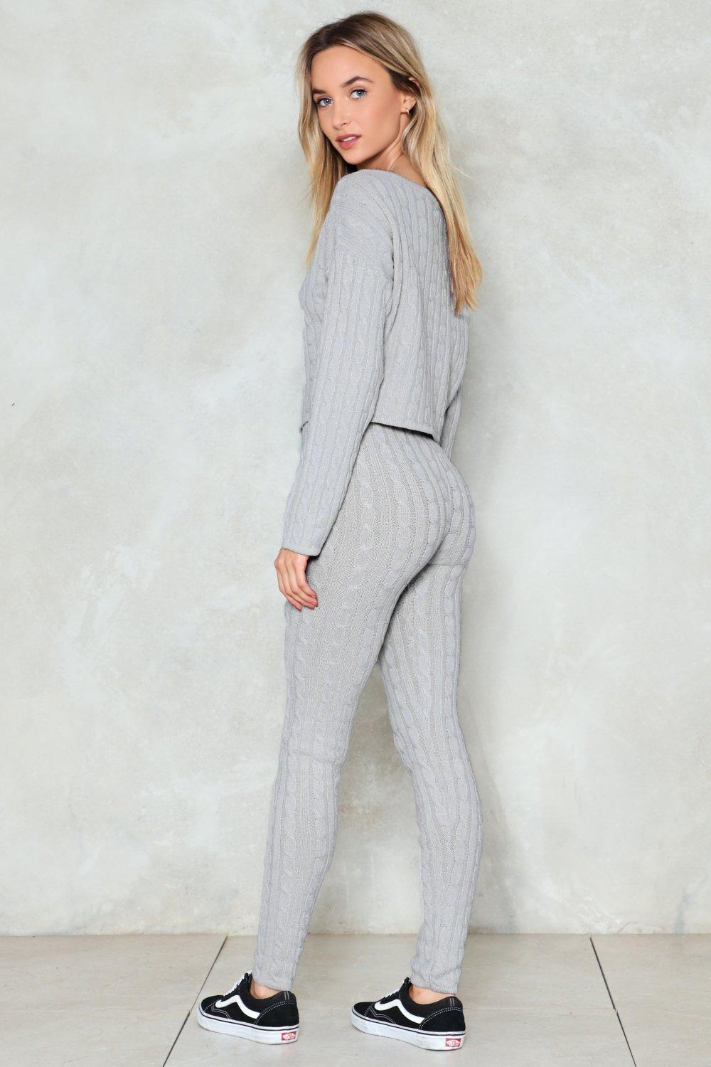 620cc33507756 Wind Down Lounge Sweater and Leggings Set | Shop Clothes at Nasty Gal!