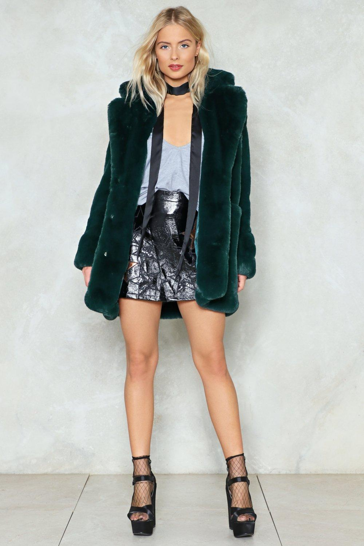 ef6cd5f99e41 Surfin' Bird Faux Fur Coat | Shop Clothes at Nasty Gal!