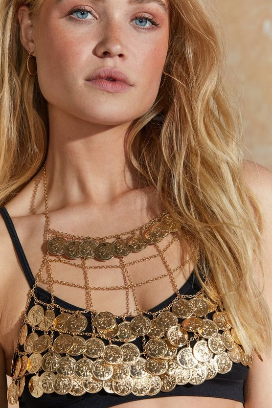All About The Coins Bralette by Nasty Gal