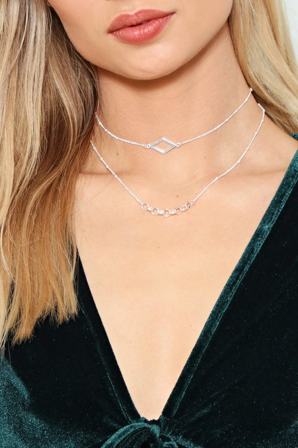 Let's Make This Crystal Clear Diamante Necklace | Shop