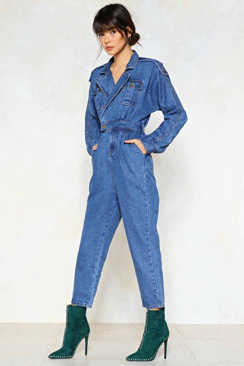 986f8052 Blue Jean Baby Denim Jumpsuit | Shop Clothes at Nasty Gal!