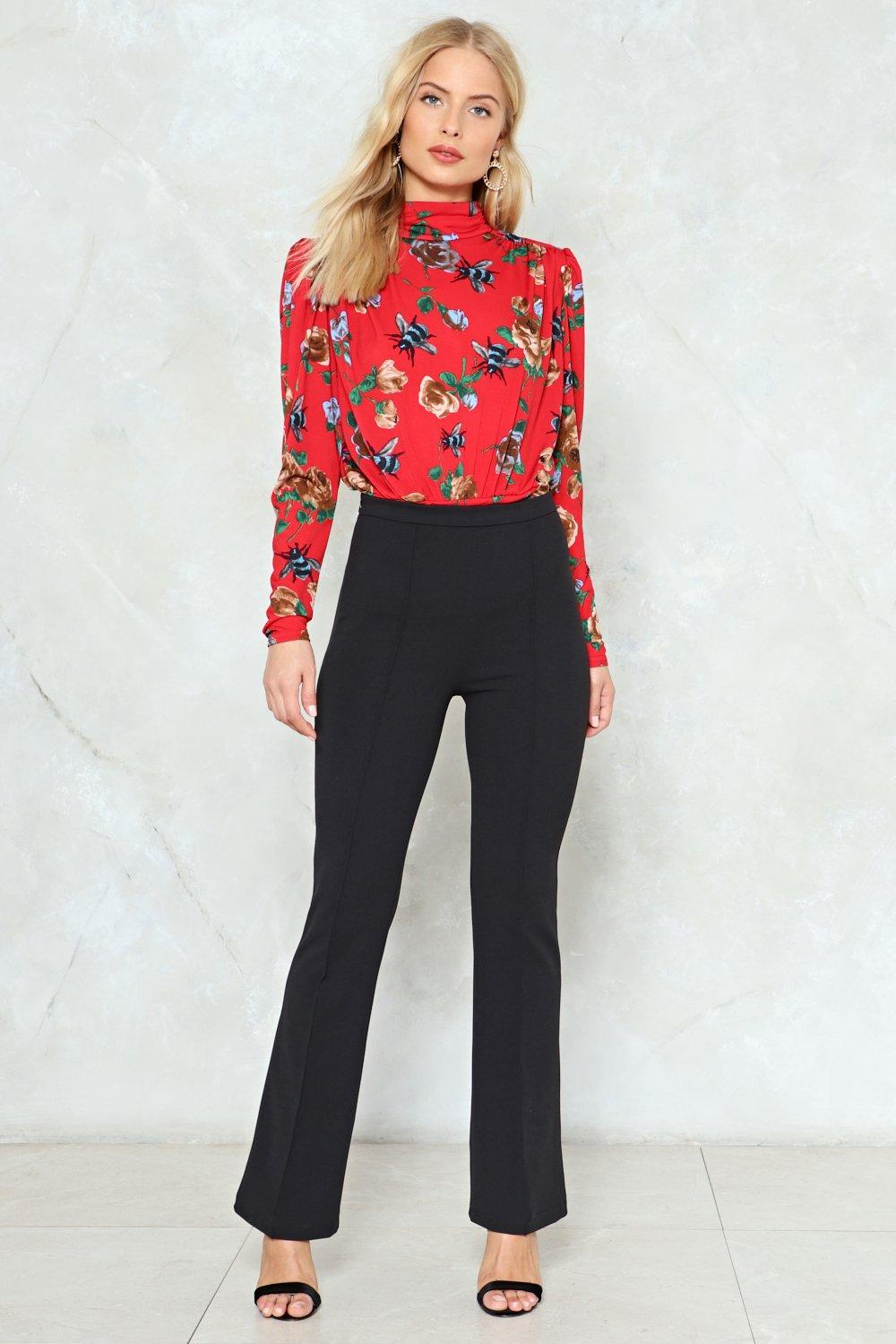 99a886f715 Double Flare You High-Waisted Pants | Shop Clothes at Nasty Gal!