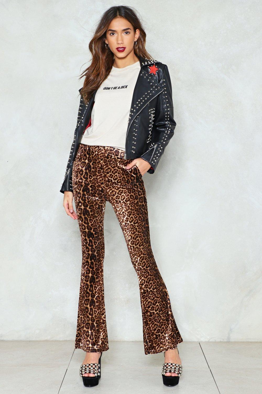 39336bdcf404 Wild Heart Leopard Pants   Shop Clothes at Nasty Gal!