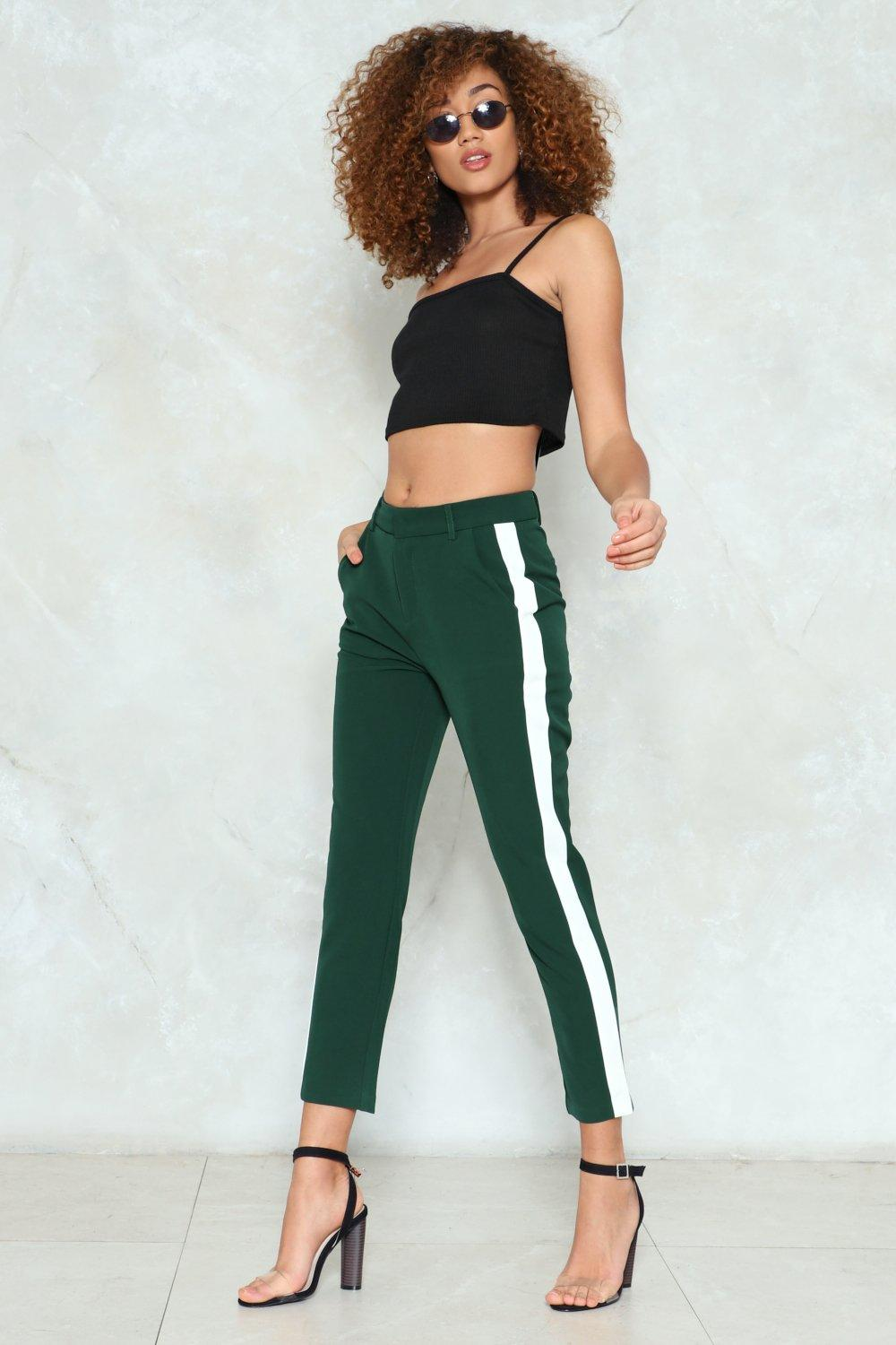 Side Stripe Pants Shop Clothes At Nasty Gal