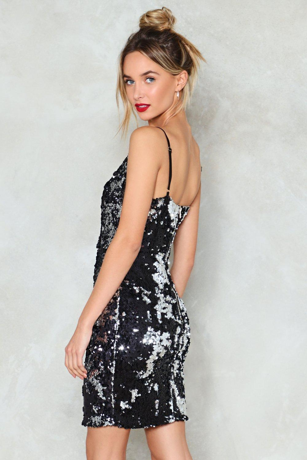 Waking Up in Vegas Sequin Dress | Shop Clothes at Nasty Gal!