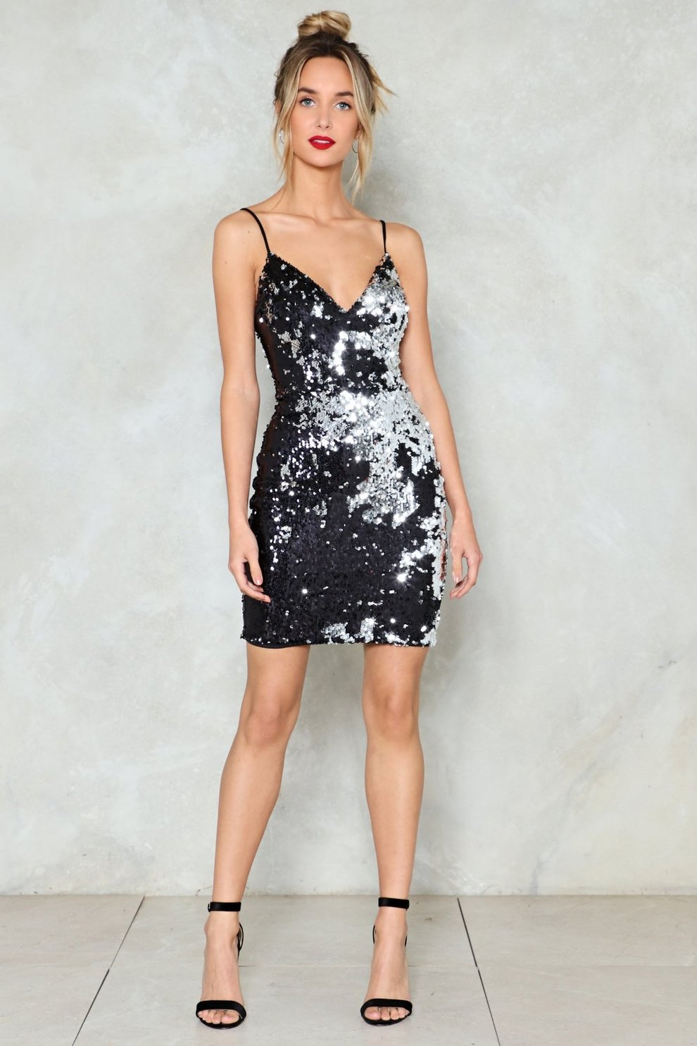 Waking Up In Vegas Sequin Dress Shop Clothes At Nasty Gal