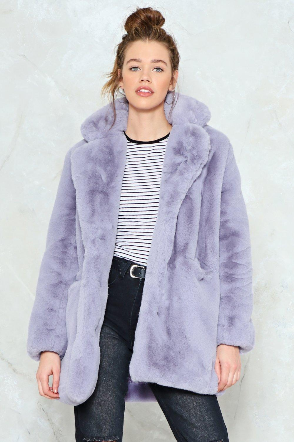 53ddd43c945b Surfin' Bird Faux Fur Coat | Shop Clothes at Nasty Gal!