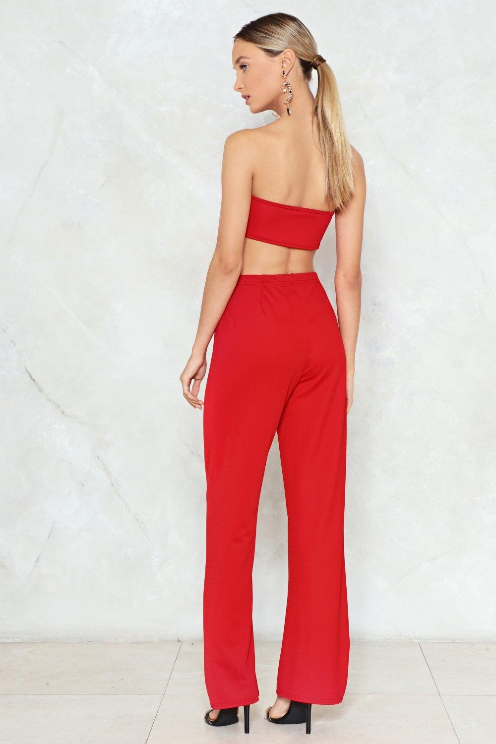 ae5e998b36 The Perfect Fit Bandeau Top and Pants Set | Shop Clothes at Nasty Gal!