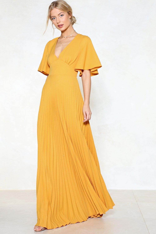 1dad5d63e739 Pleat It Hun Maxi Dress | Shop Clothes at Nasty Gal!