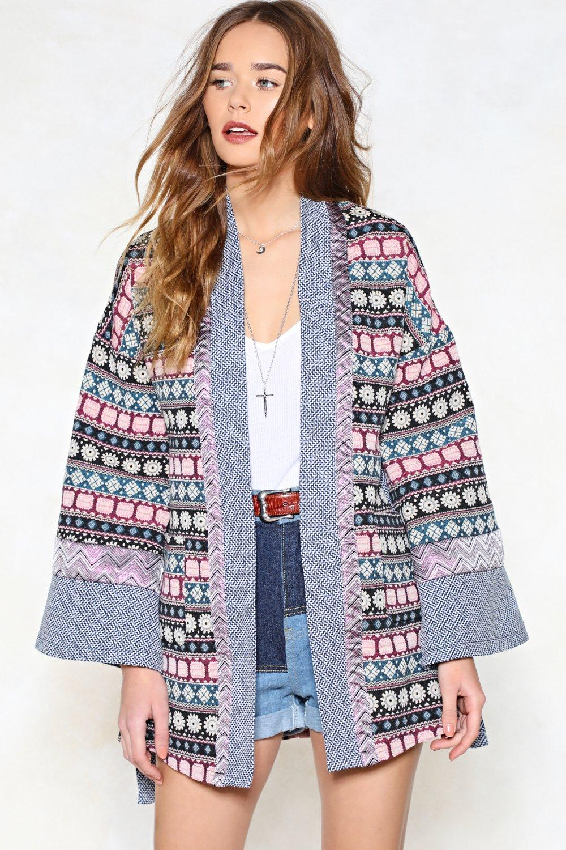 ae2a86b1c57 Not Even Wild Horses Tapestry Kimono