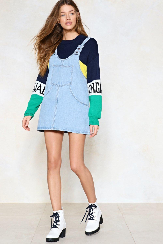 748256832185 Baby Girl Denim Pinafore Dress - raveitsafe